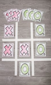 Tic Tac Toe for Speech Therapy